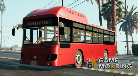 GSP Beograd gradski Autobus - Serbia Bus для GTA 5