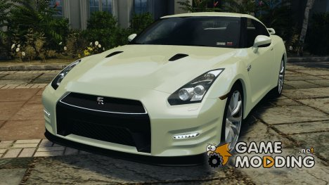 Nissan GT-R 2012 Black Edition for GTA 4