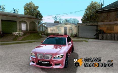 BMW 7-er F02 HAMANN 2010 for GTA San Andreas