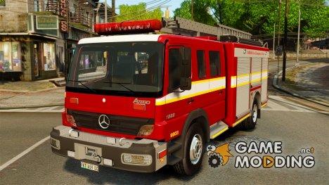 Mercedes-Benz Atego Nelson Mandela Bay Metropolitan Municipality [ELS] for GTA 4