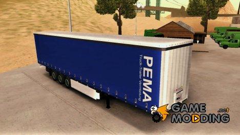 "Прицеп ""Krone PEMA"" for GTA San Andreas"