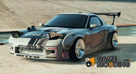 Mazda RX7 Rocket Bunny FD3 MadBULL v1.2 for GTA 5