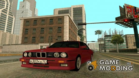 BMW M3 Е30 for GTA San Andreas