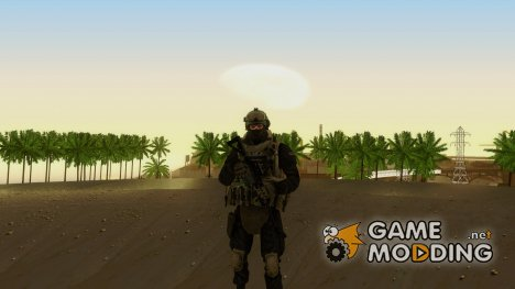 Modern Warfare 2 Soldier 4 для GTA San Andreas