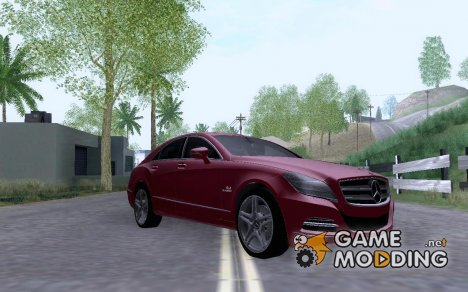 Mercedes-Benz CLS63 (AMG) 2012 for GTA San Andreas