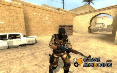 SGT's first desert terror for Counter-Strike Source