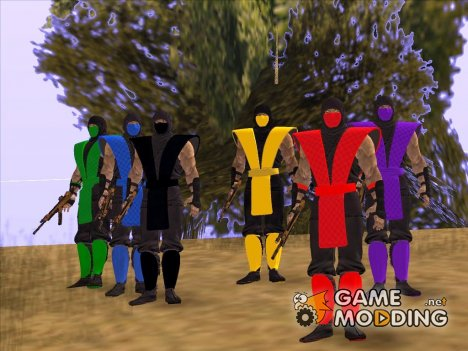 Mortal Kombat Ninjas for GTA San Andreas