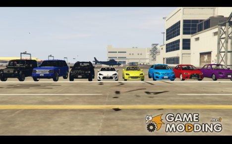 Машины для комфортной игры  or GTA 5