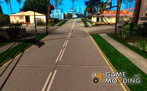 Бетонные дороги Лос-Сантос Beta for GTA San Andreas