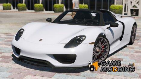 2013 Porsche 918 for GTA 5