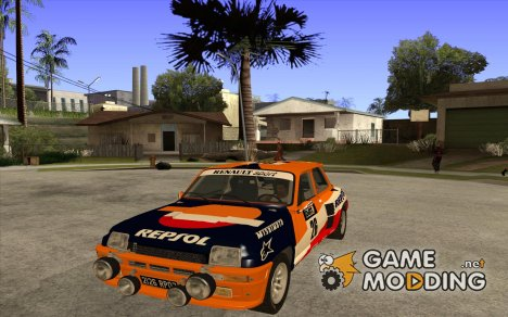 Renault 5 GT Turbo Rally для GTA San Andreas
