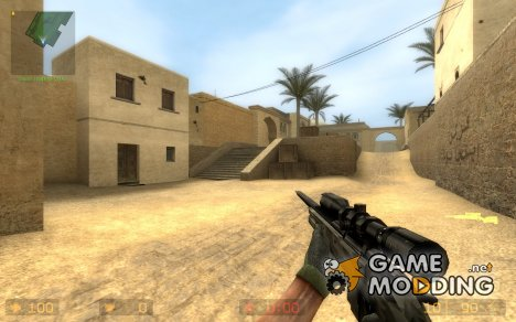 Tac Ops Conversion For Scout for Counter-Strike Source