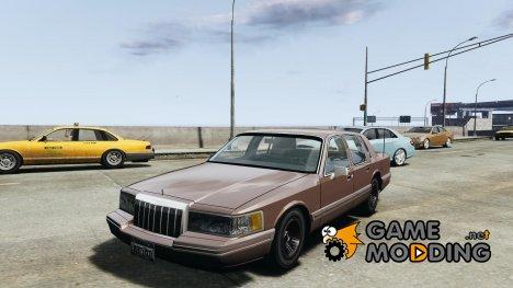 Lincoln Towncar 1991 for GTA 4