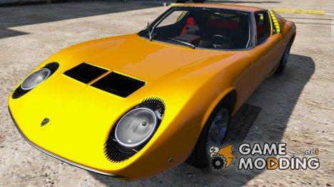 1967 Lamborghini Miura P400 for GTA 5