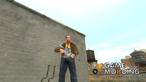 Автоматический карабин М4А1 City Camo for GTA 4