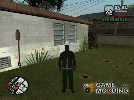 Сохранение № 10 Пройдены все миссии Биг смоук для GTA San Andreas
