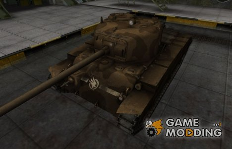 Скин в стиле C&C GDI для T20 для World of Tanks