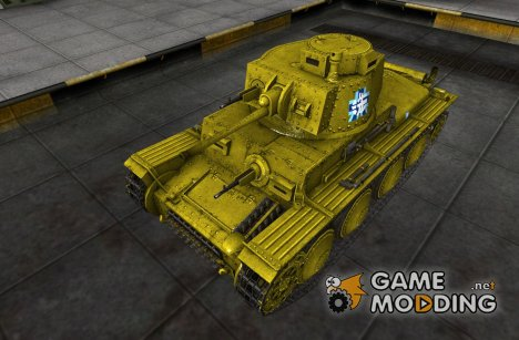 Шкурка для PzKpfw 38(t) for World of Tanks