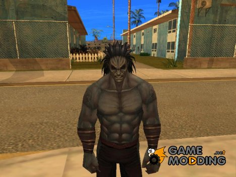 Lash marvel future fight для GTA San Andreas