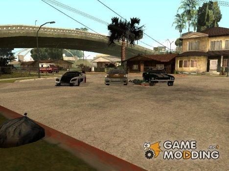 Мега Пак авто из Tokyo Drift для GTA San Andreas
