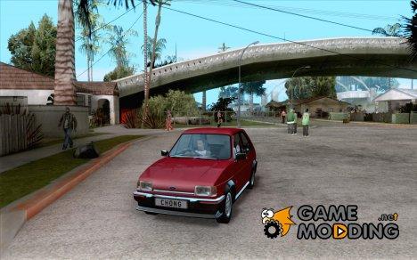 Ford Fiesta XR2 Mk2 1984 for GTA San Andreas