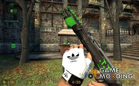 M3 Дробовик супер 90 в спортивном стиле для Counter-Strike Source