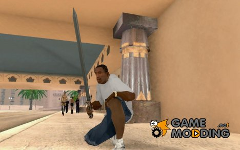 Chinese sword for GTA San Andreas