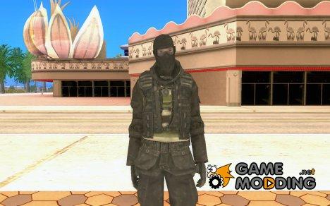 Cкин SAS for GTA San Andreas