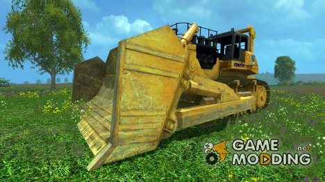 KOMATSU 575A v2.0 для Farming Simulator 2015
