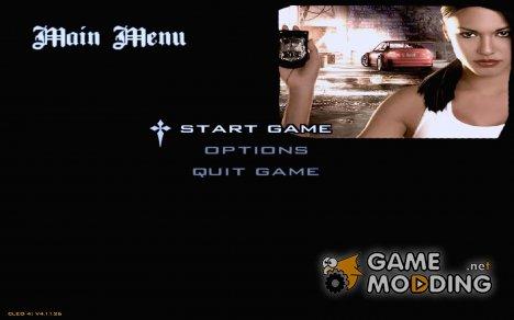 Most Wanted Menu для GTA San Andreas