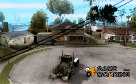 Armored Mack Titan Fuel Truck для GTA San Andreas