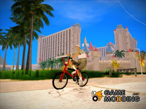BMX из GTA Vice City Stories для GTA San Andreas