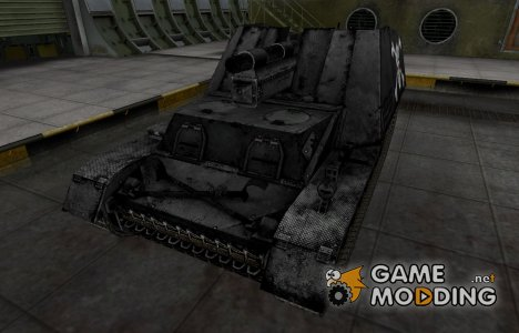 Темная шкурка Hummel для World of Tanks