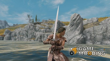 Two-handed sword -Amenomurakumonotsurugi для TES V Skyrim