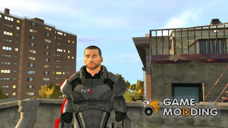 Shepard Default Armor for GTA 4