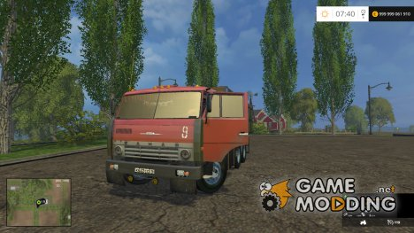 КамАЗ 55102 v1.0 for Farming Simulator 2015