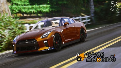 2017 Nissan GTR Tuneable for GTA 5