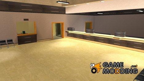 Новые текстуры SFPD (интерьер+гараж) для GTA San Andreas
