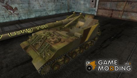 Шкурка для M40/M43 для World of Tanks