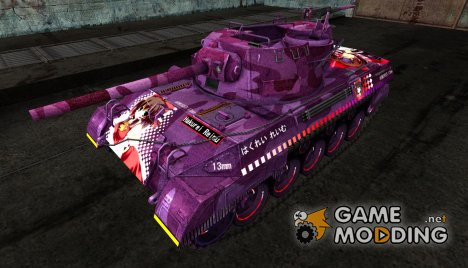 Шкурка для M18 Hellcat Anime для World of Tanks