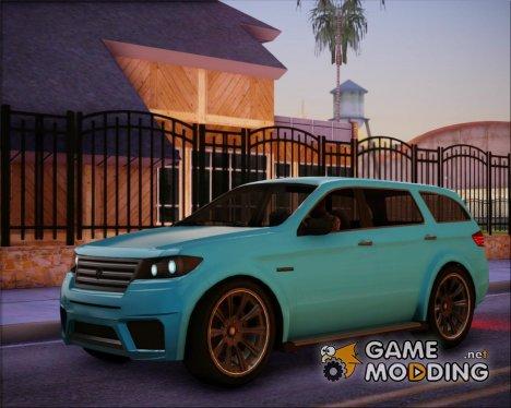 Bravado Gresley HQLM GTA V для GTA San Andreas