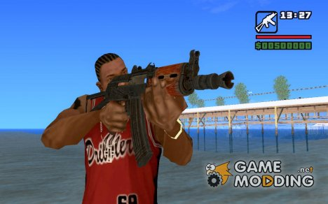 AKS-74U(исправленная) for GTA San Andreas
