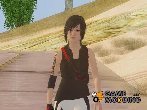 Faith Connors from Mirror's Edge для GTA San Andreas