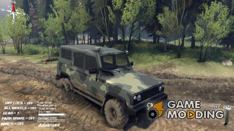 Мод UAZ-2172 for Spintires 2014