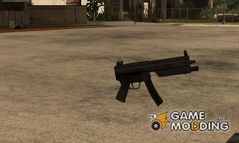 MP5 из GTA IV for GTA San Andreas