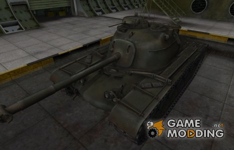 Шкурка для американского танка M48A1 Patton для World of Tanks