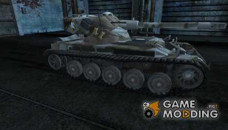 Шкурка для AMX 13 75 №15 for World of Tanks