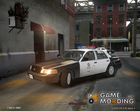 Ford Crown Victoria LAPD для GTA 4