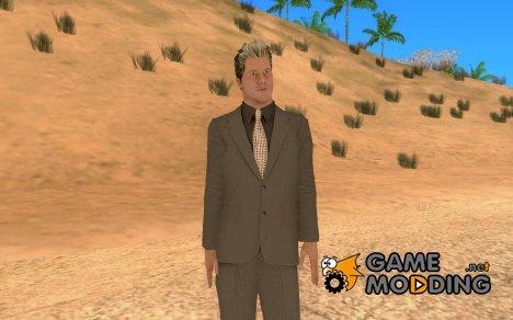 Рестлер Крис Джерихо (деловой костюм) для GTA San Andreas