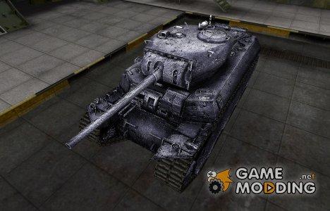 Темный скин для M6 для World of Tanks